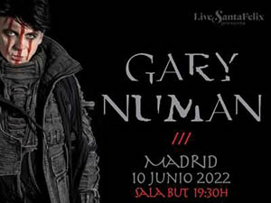 Gary Numan Madrid, 10-06-2022